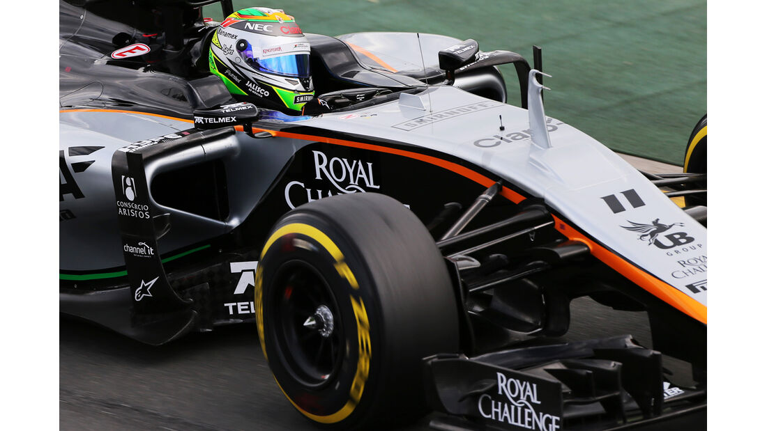 Sergio Perez - Force India - Formel 1 - GP Australien - Melbourne - 14. März 2015