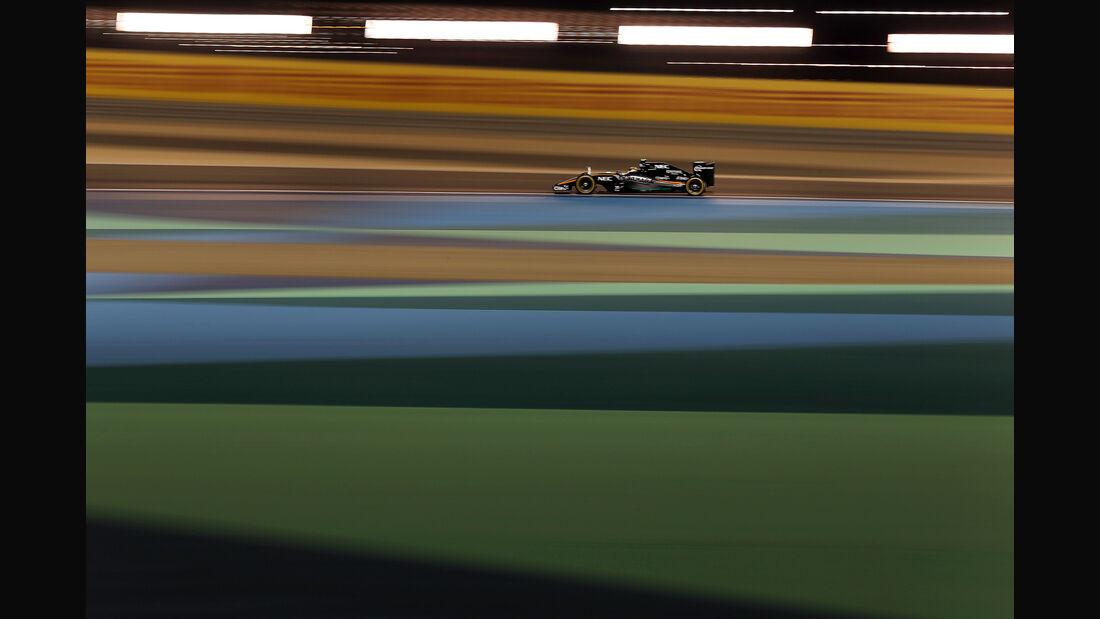 Sergio Perez - Force India - Formel 1 - GP Bahrain - 18. April 2015