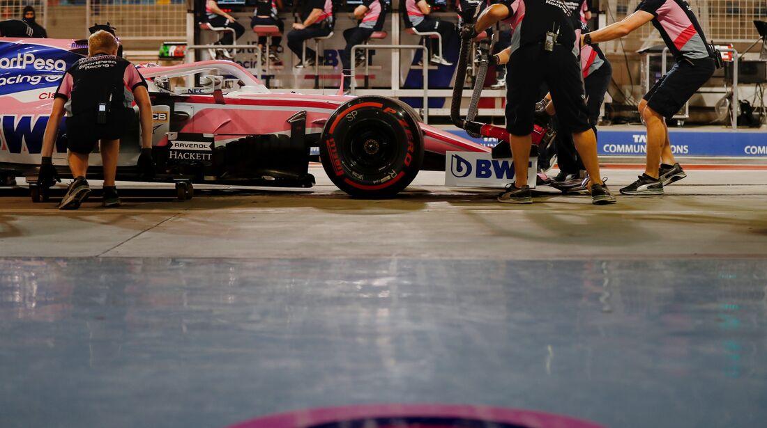 Sergio Perez - Force India - Formel 1 - GP Bahrain - 30. März 2019