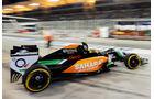 Sergio Perez - Force India - Formel 1 - GP Bahrain - Sakhir - 5. April 2014