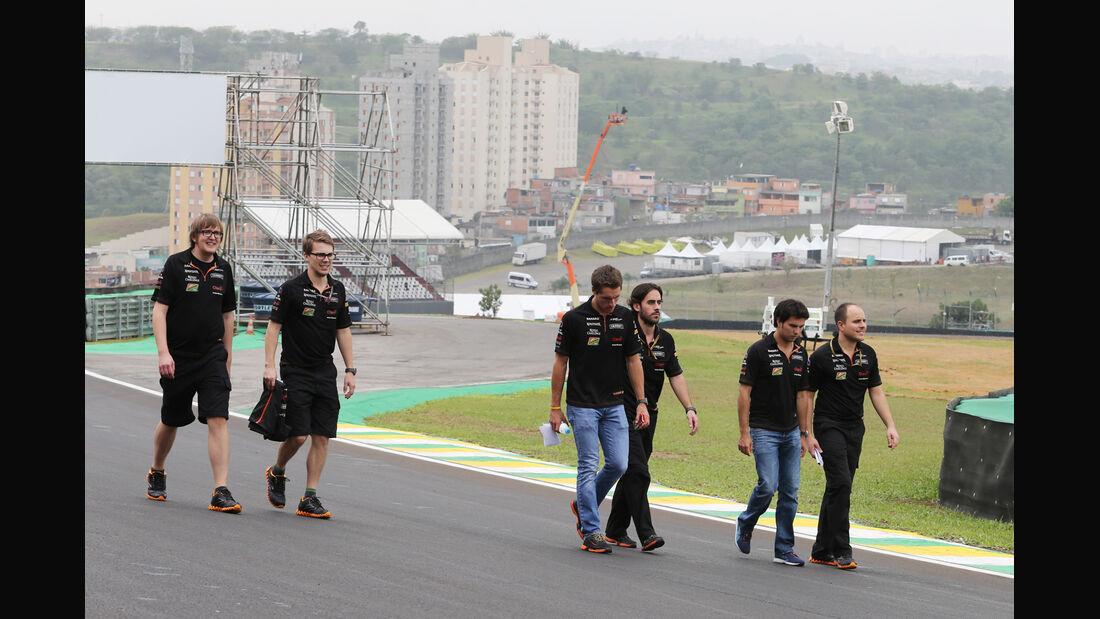 Sergio Perez - Force India - Formel 1 - GP Brasilien - 6. November 2014