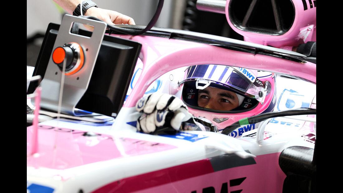 Sergio Perez - Force India - Formel 1 - GP China - Shanghai - 13. April 2017