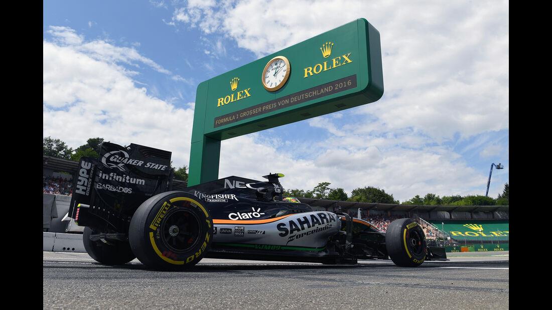 Sergio Perez - Force India - Formel 1 - GP Deutschland - 29. Juli 2016