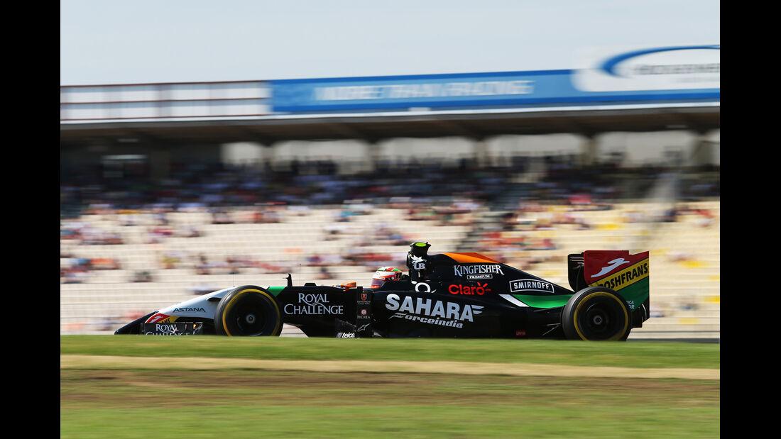 Sergio Perez - Force India - Formel 1 - GP Deutschland - Hockenheim - 19. Juli 2014