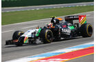 Sergio Perez - Force India - Formel 1 - GP Deutschland - Hockenheim - 19. Juli 2014