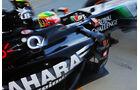Sergio Perez - Force India - Formel 1 - GP England  - Silverstone - 4. Juli 2014