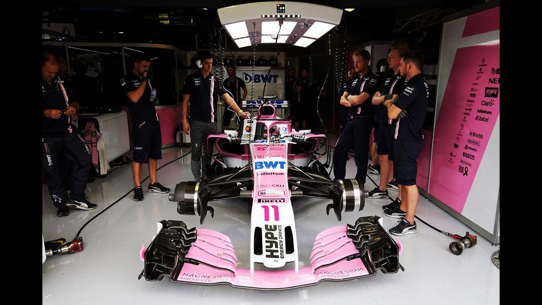 Sergio Perez - Force India - Formel 1 - GP Italien - 31. August 2018