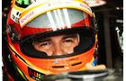 Sergio Perez - Force India - Formel 1 - GP Italien - 5. September 2014