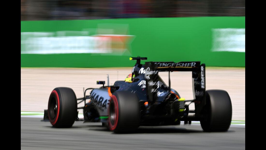 Sergio Perez - Force India - Formel 1 - GP Italien - Monza - 3. September 2016
