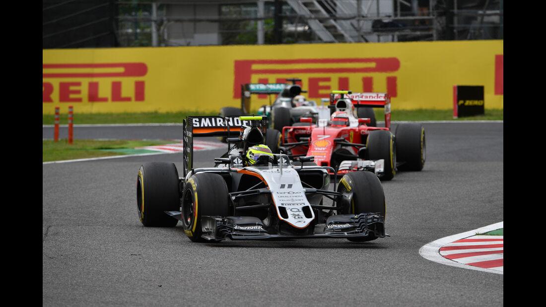 Sergio Perez - Force India - Formel 1 - GP Japan 2016 - Suzuka