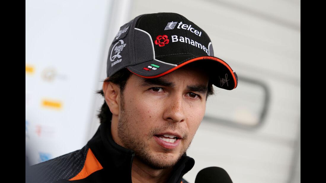 Sergio Perez - Force India - Formel 1 - GP Japan - Suzuka - 24. September 2015