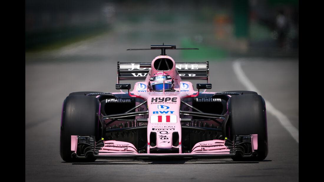 Sergio Perez - Force India - Formel 1 - GP Kanada - Montreal - 10. Juni 2017