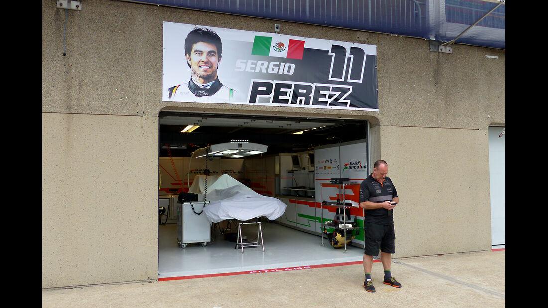 Sergio Perez - Force India - Formel 1 - GP Kanada - Montreal - 4. Juni 2014