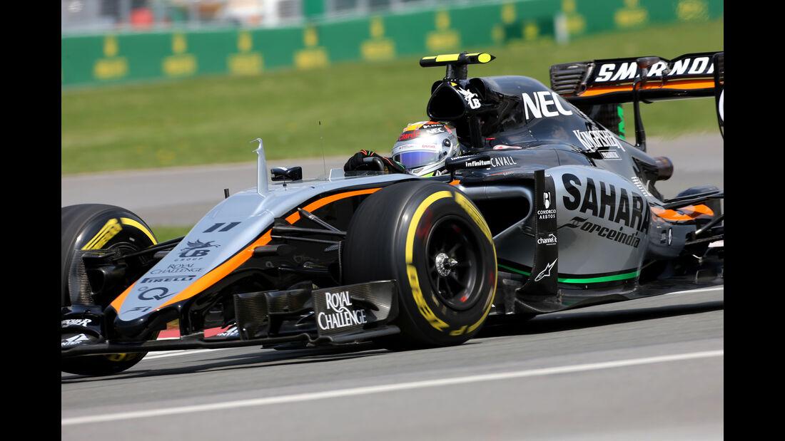 Sergio Perez - Force India - Formel 1 - GP Kanada - Montreal - 5. Juni 2015