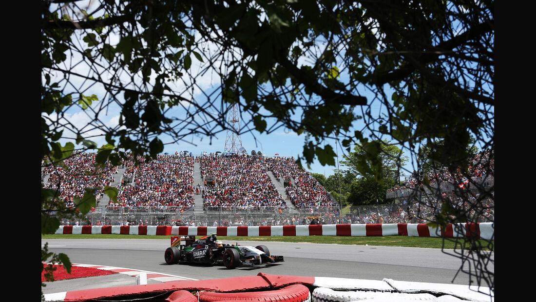 Sergio Perez - Force India - Formel 1 - GP Kanada - Montreal - 7. Juni 2014
