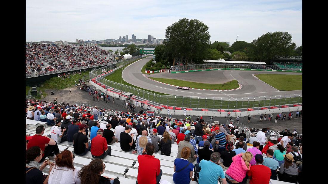 Sergio Perez - Force India - Formel 1 - GP Kanada - Montreal - 9. Juni 2017