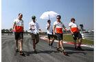 Sergio Perez - Force India - Formel 1 - GP Malaysia - Sepang - 27. März 2014