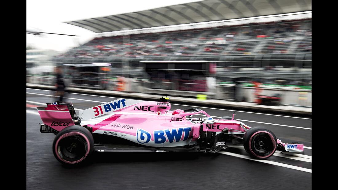 Sergio Perez - Force India - Formel 1 - GP Mexiko - 27. Oktober 2018