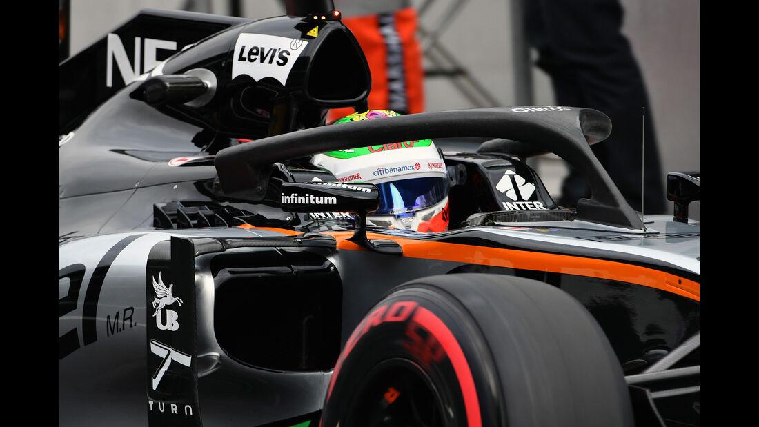 Sergio Perez - Force India - Formel 1 - GP Mexiko - 28. Oktober 2016