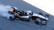 Sergio Perez - Force India - Formel 1 - GP Mexiko - 29. Oktober 2016