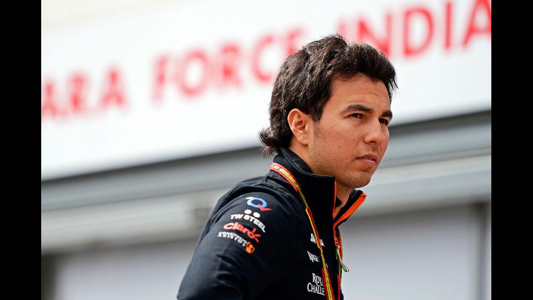 Sergio Perez - Force India - Formel 1 - GP Monaco - 21. Mai 2014