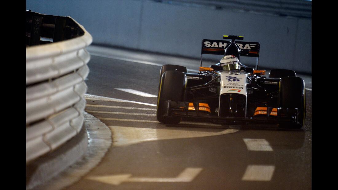 Sergio Perez - Force India - Formel 1 - GP Monaco - 22. Mai 2014