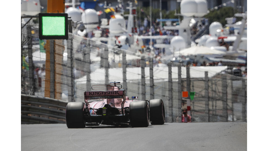 Sergio Perez - Force India - Formel 1 - GP Monaco - 27. Mai 2017