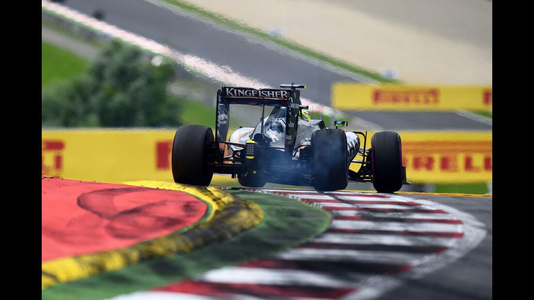 Sergio Perez - Force India  - Formel 1 - GP Österreich - 2. Juli 2016