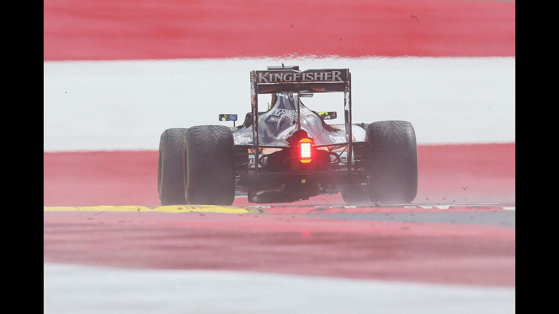 Sergio Perez - Force India - Formel 1 - GP Österreich - Spielberg - 1. Juli 2016