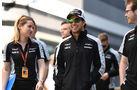 Sergio Perez - Force India - Formel 1 - GP Russland - 28. April 2016