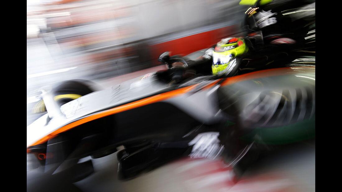 Sergio Perez - Force India  - Formel 1 - GP Russland - 29. April 2016