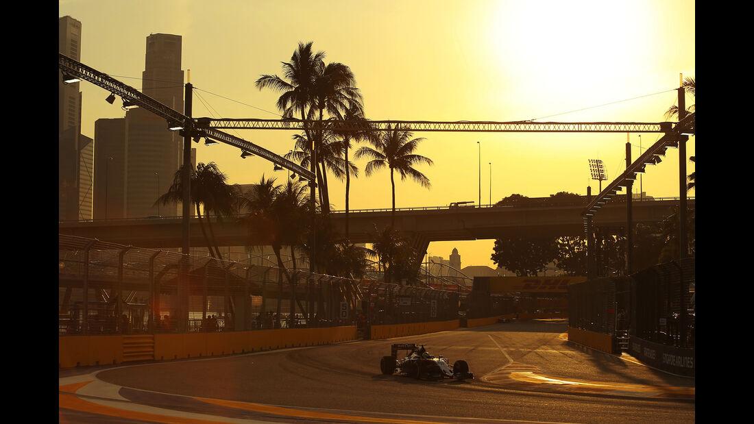 Sergio Perez - Force India - Formel 1 - GP Singapur - 16. September 2016