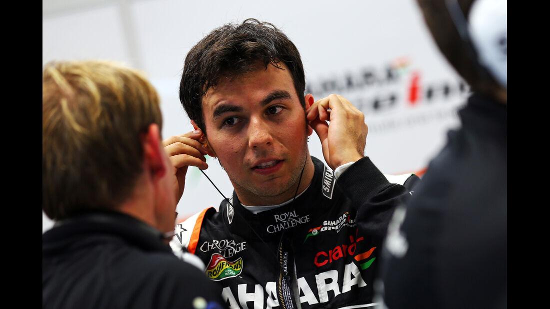 Sergio Perez - Force India - Formel 1 - GP Singapur - 19. September 2014