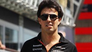 Sergio Perez - Force India - Formel 1 - GP Spanien - Barcelona - 8. Mai 2014