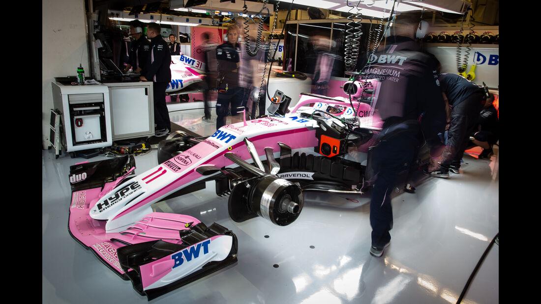 Sergio Perez - Force India - Formel 1 - GP USA - 19. Oktober 2018