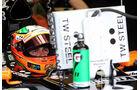 Sergio Perez - Force India - Formel 1 - GP Ungarn - 25. Juli 2014