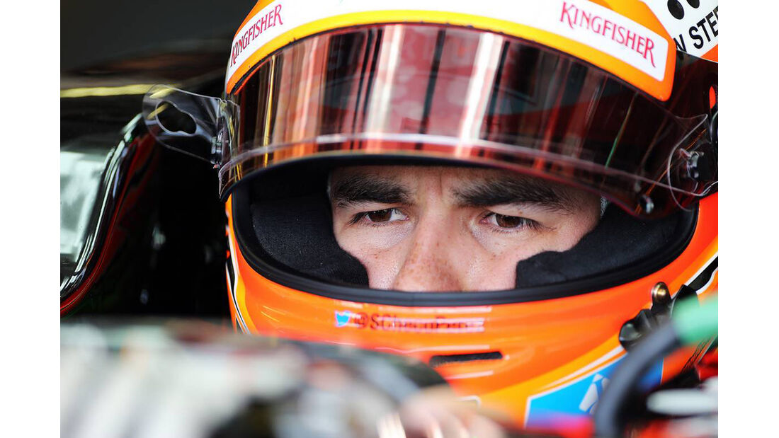 Sergio Perez - Force India - Formel 1 - GP Ungarn - 26. Juli 2014