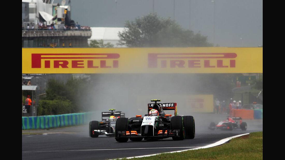 Sergio Perez - Force India - Formel 1 - GP Ungarn - 27. Juli 2014