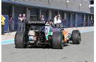Sergio Perez - Force India - Formel 1 - Jerez-Test - 28. Januar 2014