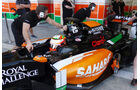 Sergio Perez - Force India - Formel 1 - Test - Bahrain - 22. Februar 2014