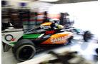 Sergio Perez - Force India - Formel 1 - Test - Bahrain - 27. Februar 2014
