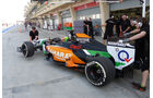 Sergio Perez - Force India - Formel 1 - Test - Bahrain - 27. Februar 2014