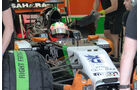Sergio Perez - Force India - Formel 1 - Test - Bahrain - 28. Februar 2014