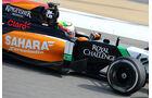 Sergio Perez - Force India -  Formel 1 - Test - Bahrain - 28. Februar 2014