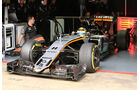 Sergio Perez - Force India - Formel 1 - Test - Barcelona - 2. März 2016