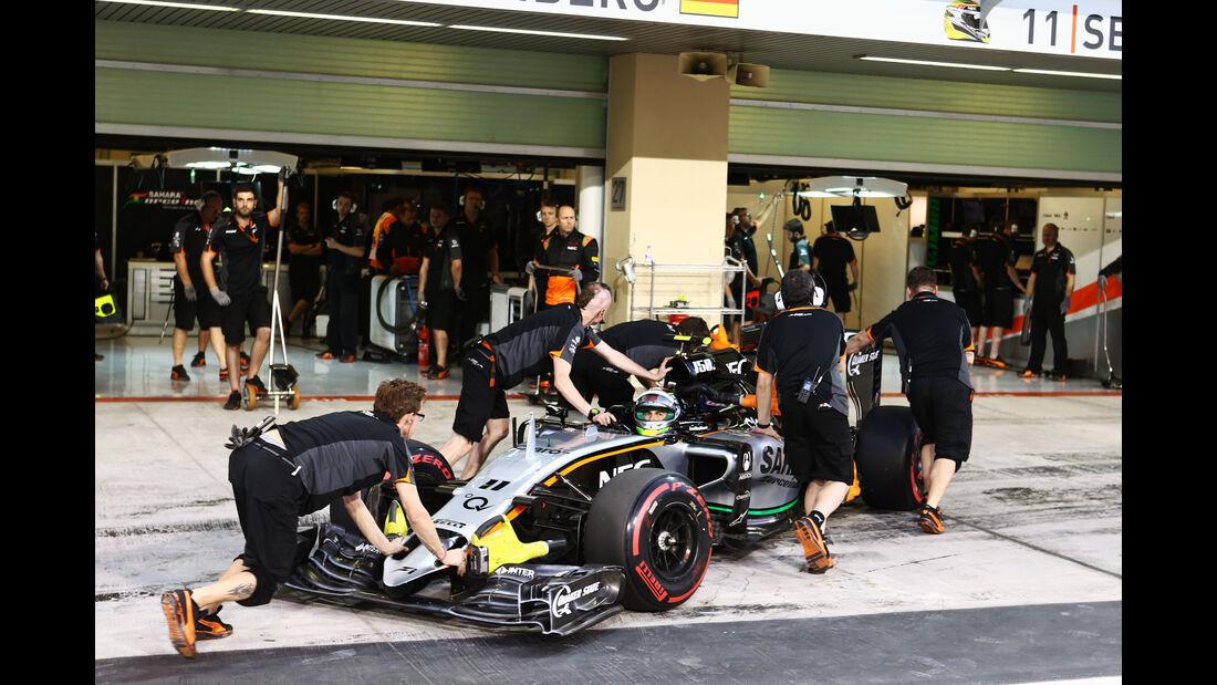 Sergio Perez - Force India - GP Abu Dhabi - 28. November 2015