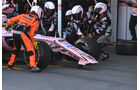 Sergio Perez - Force India - GP Aserbaidschan 2017 - Baku - Rennen