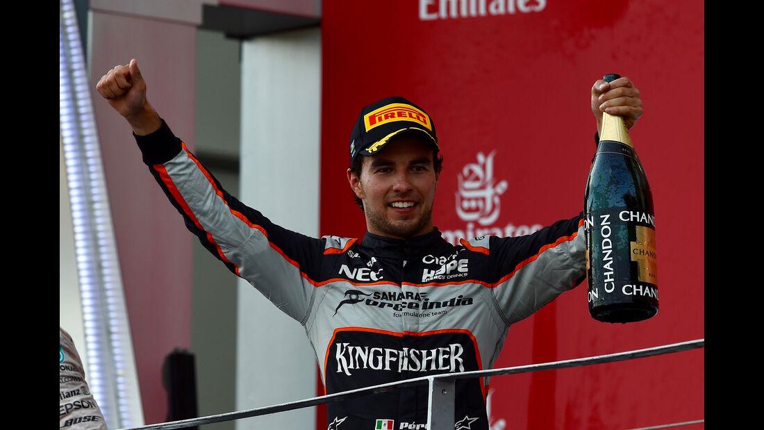 Sergio Perez - Force India - GP Aserbaidschan - Formel 1 - 2016