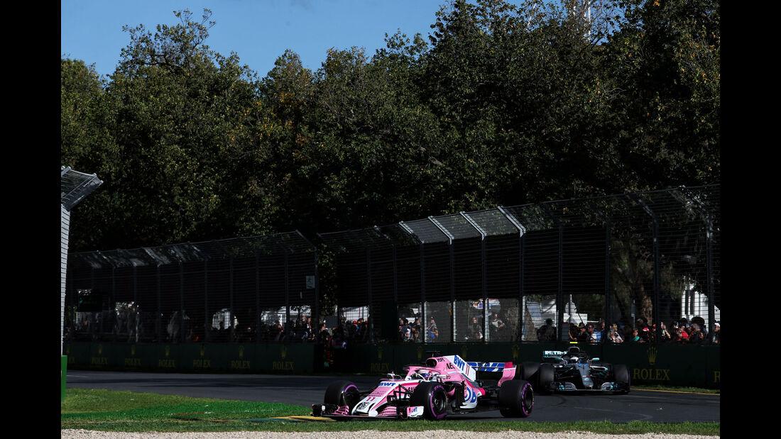 Sergio Perez - Force India - GP Australien 2018 - Melbourne - Rennen