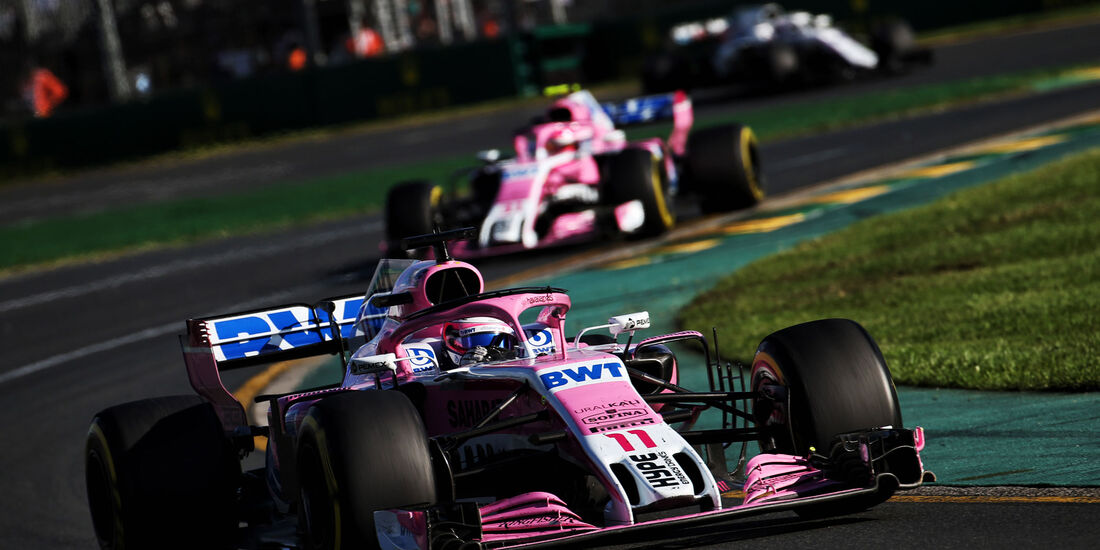 Sergio Perez - Force India - GP Australien 2018 - Melbourne - Rennen